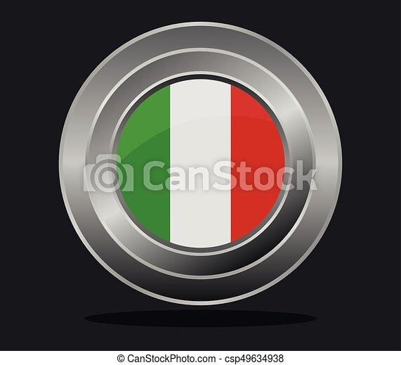flag of italy - csp49634938