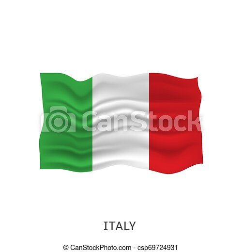 Flag of Italy - csp69724931
