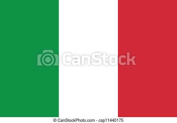 Flag of Italy - csp11440175