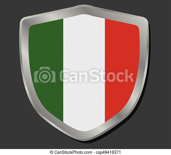 Flag of italy - csp49416371