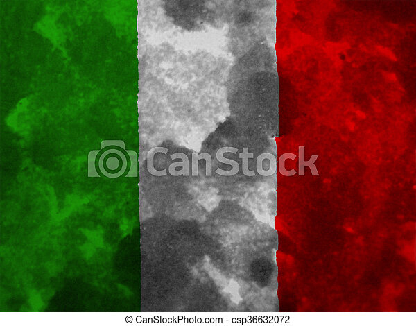 flag of Italy - csp36632072