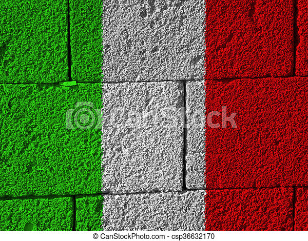 flag of Italy - csp36632170