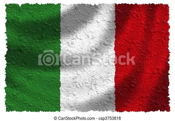 Flag of Italy - csp3753818