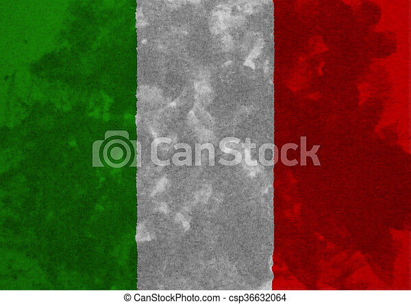 flag of Italy - csp36632064