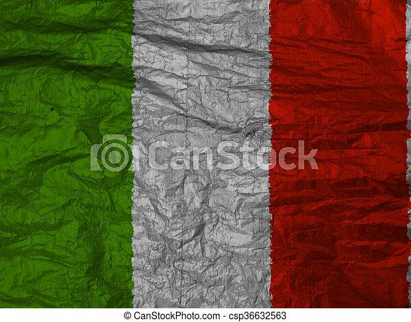 Flag of italy - csp36632563