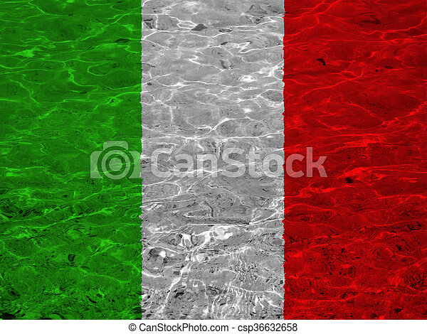 Flag of italy - csp36632658