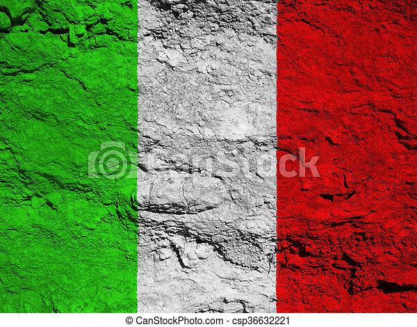 flag of Italy - csp36632221