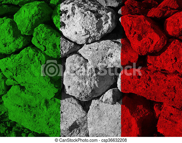 flag of Italy - csp36632208