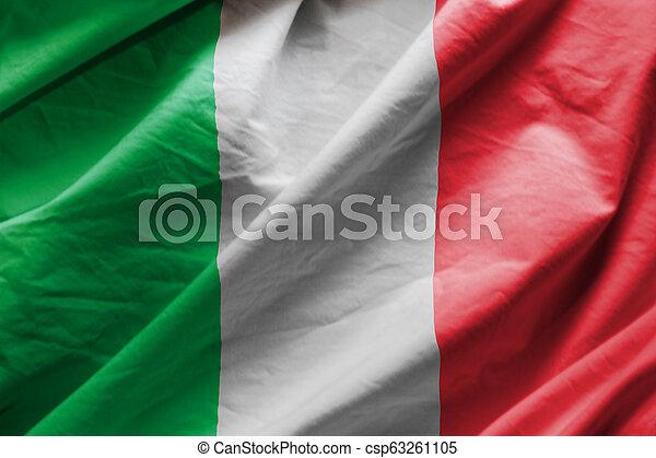 Flag of italy - csp63261105