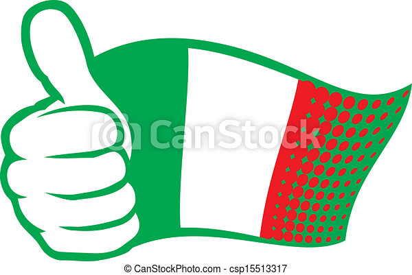 flag of italy - csp15513317