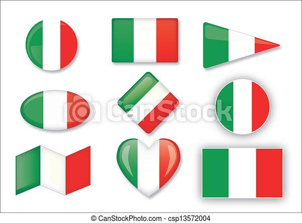 flag of Italy - csp13572004