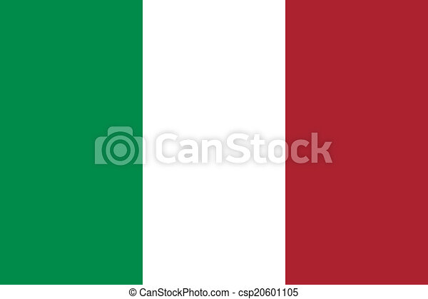 Flag of Italy - csp20601105