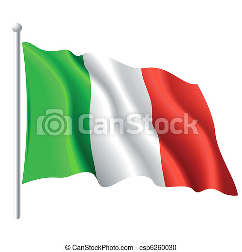 Flag of Italy - csp6260030
