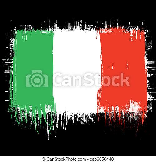 flag of italy - csp6656440