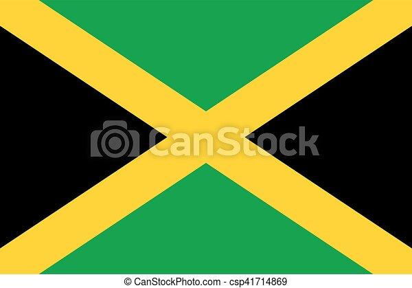 Flag of Jamaica - csp41714869