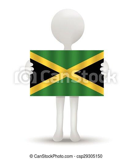flag of Jamaica - csp29305150