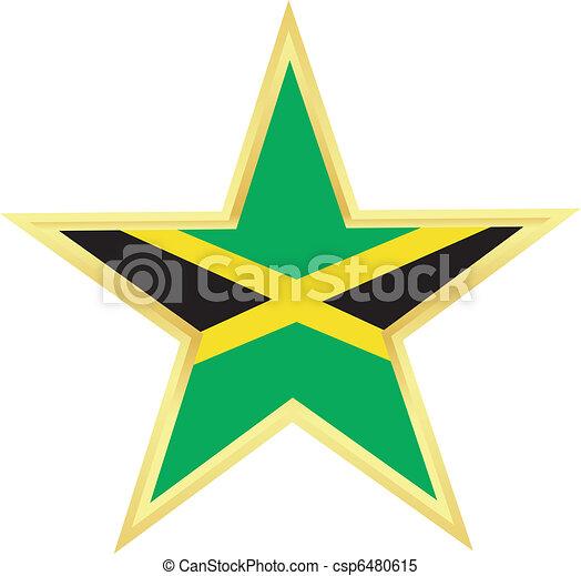 flag of Jamaica - csp6480615