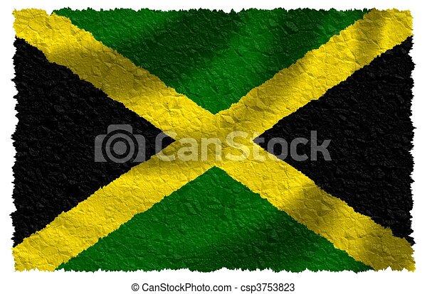 Flag of Jamaica - csp3753823