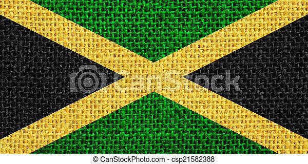 flag of Jamaica - csp21582388