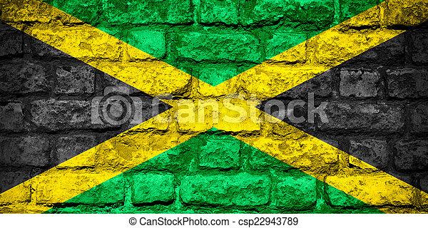 flag of Jamaica - csp22943789