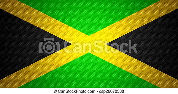 flag of Jamaica - csp26078588