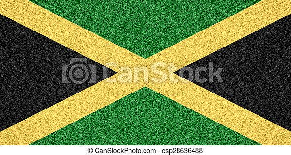 flag of Jamaica - csp28636488