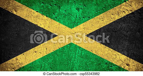 flag of Jamaica - csp55343982