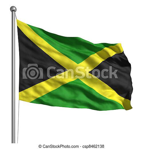 Flag of Jamaica - csp8462138