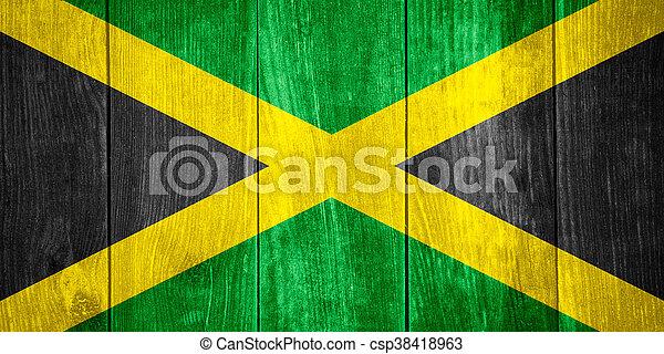 flag of Jamaica - csp38418963