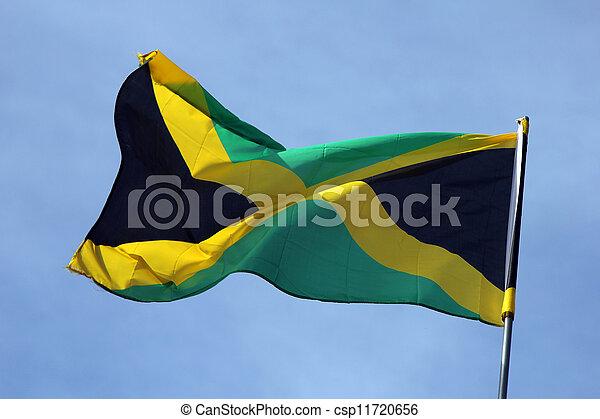 Flag of Jamaica - csp11720656