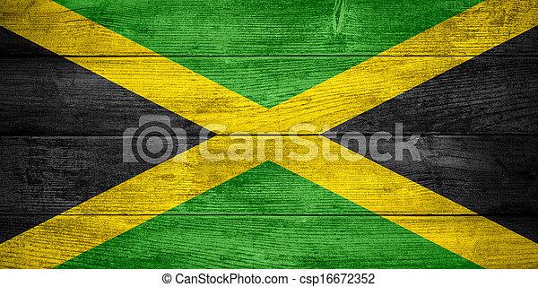 flag of Jamaica - csp16672352