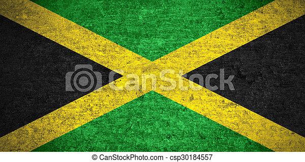 flag of Jamaica - csp30184557
