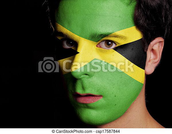 Flag of Jamaica - csp17587844