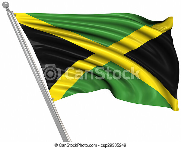 Flag of Jamaica - csp29305249