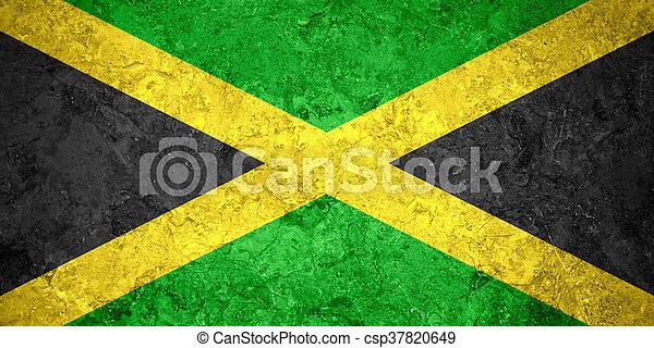 flag of Jamaica - csp37820649