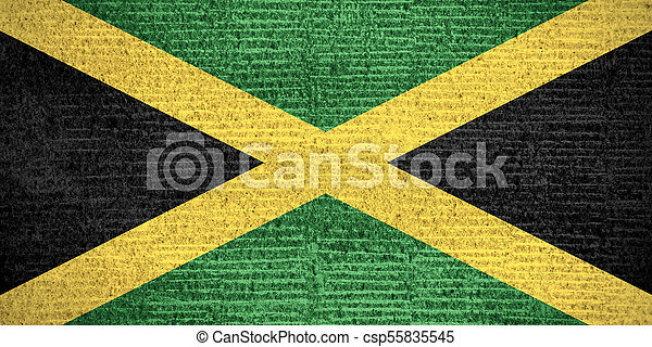 flag of Jamaica - csp55835545