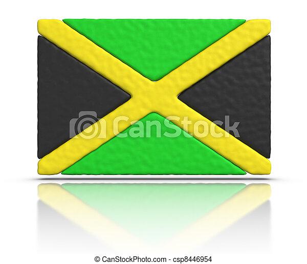 Flag of Jamaica - csp8446954