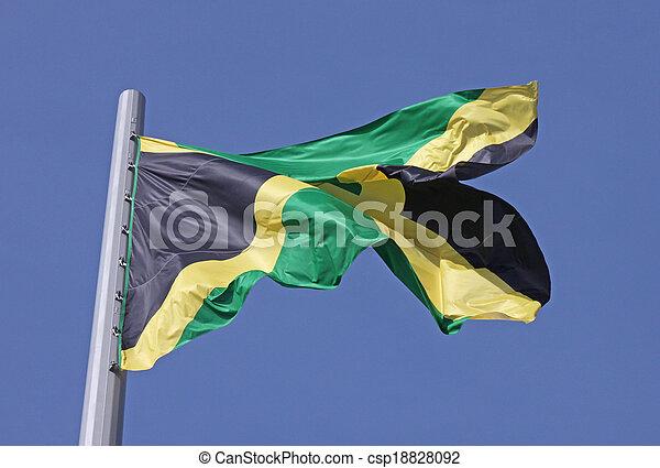 flag of Jamaica - csp18828092