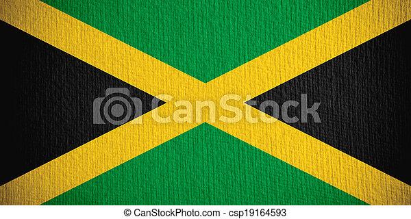 flag of Jamaica - csp19164593