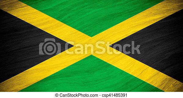 flag of Jamaica - csp41485391