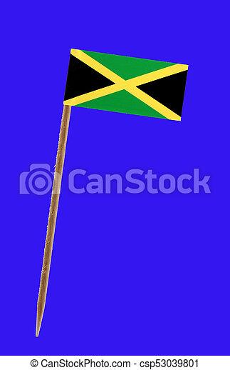 Flag of Jamaica - csp53039801