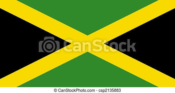 Flag of Jamaica - csp2135883