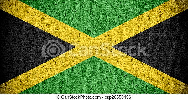 flag of Jamaica - csp26550436