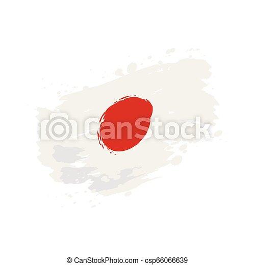 flag of Japan - csp66066639