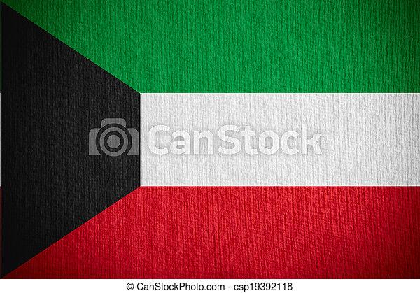 flag of Kuwait - csp19392118