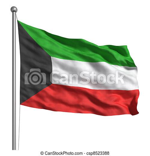 Flag of Kuwait - csp8523388
