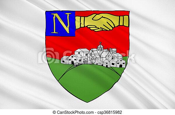 Flag Of La Roche Sur Yon France Flag Of La Roche Sur Yon Is A