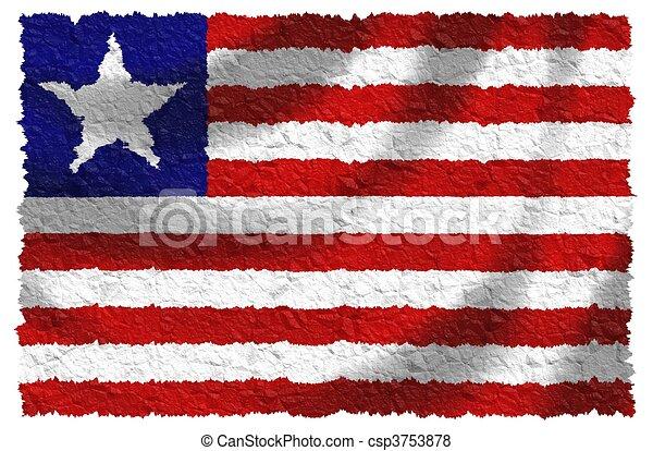 Flag of Liberia - csp3753878