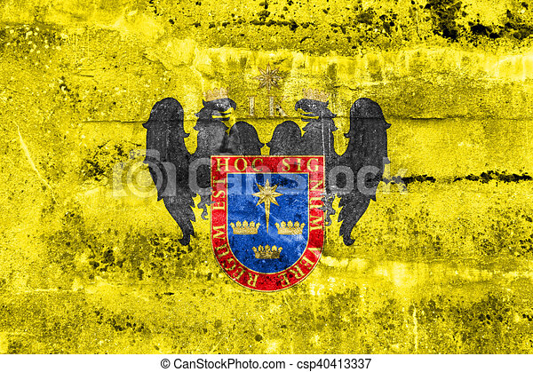 Flag of lima, peru, painted on dirty wall drawings - Search Clipart ...