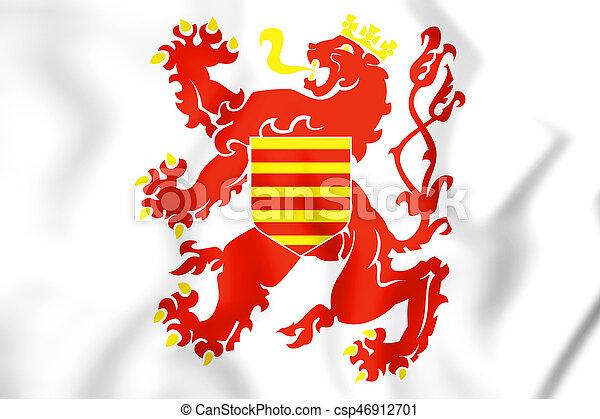 Flag of Limburg_(Belgium) - csp46912701